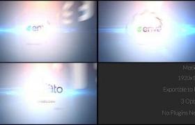 -明亮简洁光效LOGO标志片头 Simple Quick Logo