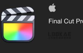 苹果视频剪辑FCPX软件 Final Cut Pro X 10.5.4 英/中文版