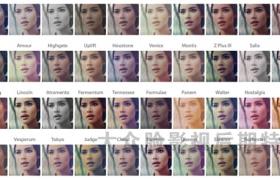 50个Instagram风格电影视频调色LUTs预设(FCPX/PR/PS/AE)Instagrading 50 Color Grading Filters