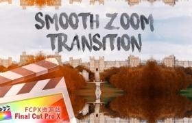 FCPX转场插件:平滑变焦缩放转场  Smooth Zoom Transition