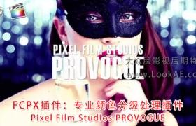 FCPX插件:专业颜色分级处理调色插件 Pixel Film Studios PROVOGUE