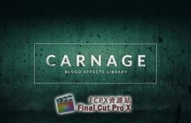 视频素材-296个实拍滴血血液喷溅血迹绿幕特效合成4K视频素材Carnage 免费下载