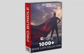 1000种模仿好莱坞电影大片LUTS调色预设豪华合集包 1000+ MOVIE LUTS COLLECTION [2020]