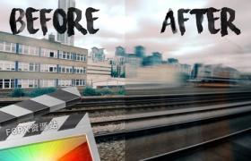 FCPX插件-视频运动模糊丝滑插件 Ryan Nangle – Motion Blur