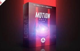 4K视频素材-190个动感视觉图形闪烁叠加动画 BigFilms – The Motion Pack