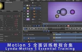 Motion 5 全面�}��教程合集 Lynda �C Motion 5 Essential Training