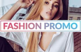 FCPX模板-时尚轻快炫光数字故障图文切换展示介绍 My Style Fashion Promo