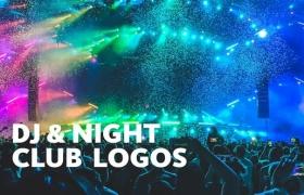 FCPX插件-3组动感夜总会DJ打碟LOGO片头 DJ Night Club Logos