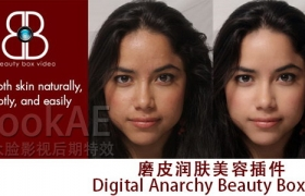 FCPX插件:磨皮润肤美容插件 Digital Anarchy Beauty Box 4.1.0