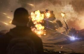 视频素材-184个爆炸坍塌火焰烟雾流星闪电电流特效合成视频素材 有透明通道