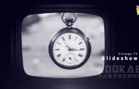 FCPX模板-复古老实电视机图文展示动画 Vintage TV Slideshow