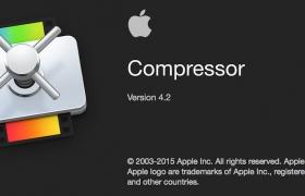更新:苹果视频编辑软件 Compressor 4.2(多国语言-含中文)