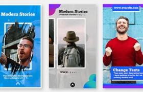 FCPX插件-30种Instagram竖屏设计排版展示包装动画