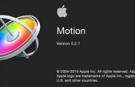 更新:苹果视频编辑软件 Motion 5.2.1(多国语言-含中文)