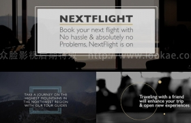 FCPX插件:30种商务企业文字标题动画 ProParagraph
