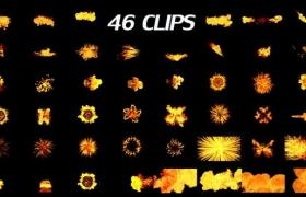 视频素材-46个火焰燃烧视频素材(有Alpha透明通道)